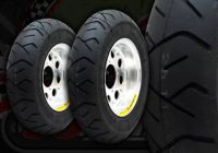"Wheel kit. 8"". Alloy rims. Wide. Streched. Heidenau tyres"