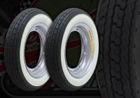 Wheel kit. ALLOY rims. White wall Shinko tyres. Suitable for DAX