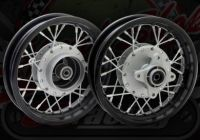 Wheel rear pit bike drum brake XR style 10