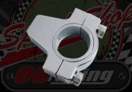 Mirror. Component. Mount for handlebar. M8 or M10 L/H & R/H thread. 7/8th (22mm) bars or 1