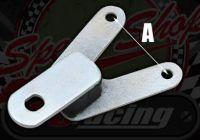 Bracket. Speedo or Rev counter. Rubber mounted