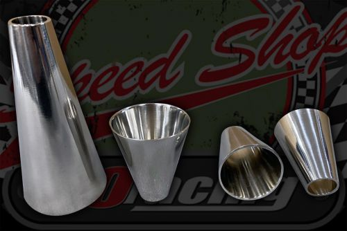 Stainless 304 exhaust/inlet tube CONE reducers sizes O/D