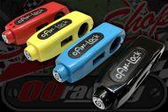 Throttle & brake lock great security