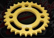 Sprocket. Rear. 428 pitch. 28T or 31T. Suitable for DAX, Chaly. Bolt on type