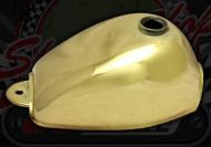 Tank.  Gold plated finish. Suitable for monkey
