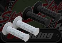 Grips. Pair. Thin wall. Medium compound. 7/8th (22mm) Standard bars