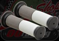 Grips. Pair. Dual compound. Soft. Stock bars 7/8th (22mm)