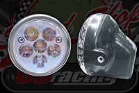 Head light. LED 6 Spot wit 2 side LED 6