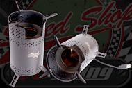 Bio Mass jet camping stove