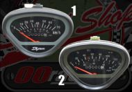 Clock. Speedo. 70Km/h or 140Km/h. Suitable for use with DAX 12V