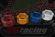 Head stock. top nut CNC Alloy 22mm GOLD, SILVER, RED, BLUE