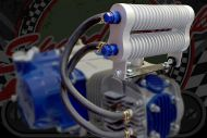 Cooler kit. oil. manifold Twin row. Round. Compact. Efficient.
