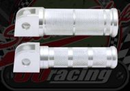 Footrest. Foot pegs. Round nurled. Standard or over sized. Universal