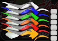 Plastics pro flex kits CRF50/Pitbike style wide range of colours