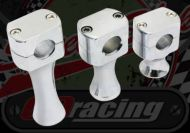 Handlebar. Component. Clamp. Riser. Billet alloy. Choice of lift available PAIR