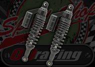 Shocks. 330mm. Stealth. Black. Heavy weight spring