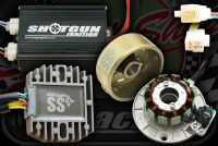 Gen. Kit. SS3. 3 Phase. 100W. Shotgun Ignition. CDI and COIL in 1 box