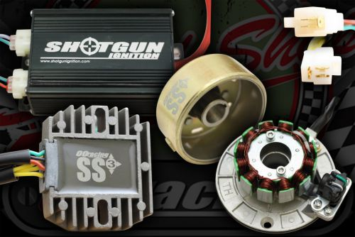 Gen. Kit. SS3+. 3 Phase. 100W. Shotgun Ignition. CDI and COIL in 1 box