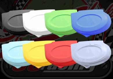 Side panel. Oval. Full range of colours. Suitable for Monkey bike