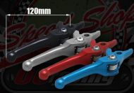Lever. Brake. Front. Light action. Alloy. Folding type