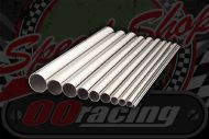 Stainless polished 304 tube. Sizes OD from 19mm to 76mm. 250mm lengths.
