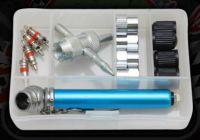 Wheel. Accessory. Tyre valve service kit