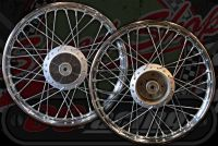 Wheel C50/70C90 CUB 83 to 92 REAR