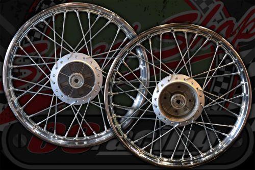 Wheel C50/70C90 CUB 83 to 92 REAR